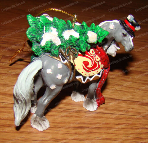 Clydesdale Snowy Ornament (Horse Different Color by Westland Giftware, 20648)