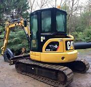 Caterpillar 5 tonne excavators for hire Montrose Yarra Ranges Preview