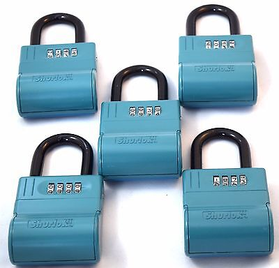 New Shurlok Real Estate Lock Box - Key Storage Realtor Lockbox Lot Of 5