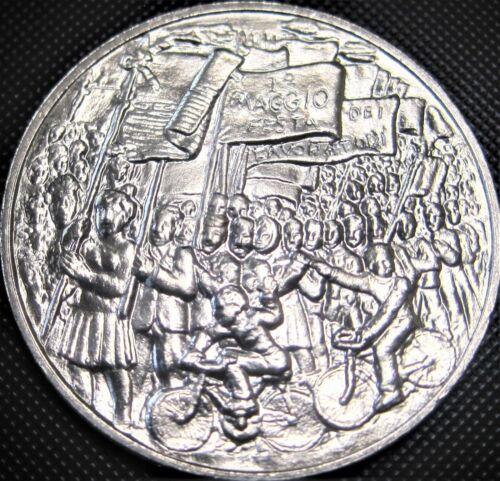 **BU-LOW MINT** 1978 San Marino 500 KM#84 - Silver Coin