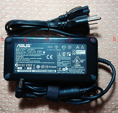 Original Genuine OEM ASUS AC Adapter Charger for Asus G73JH-A2,G73JH-X1 Notebook