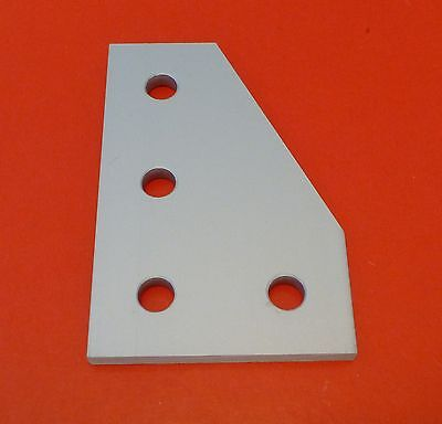 8020 8020 Equivalent Aluminum 4 Hole 90 Joining Plate 10 Series Pn 4150 New