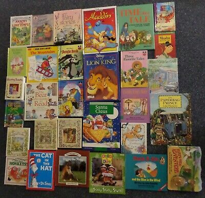 Job Lot 30 Books Young Children Stories