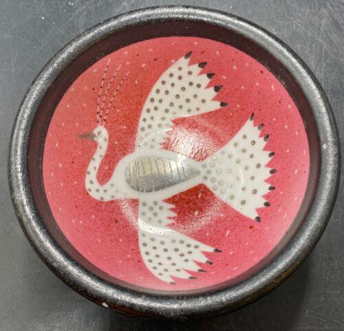 Waylande Gregory Bowl Flying Bird