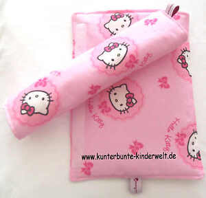 Gurtpolster,Sicherheits-Gurtpolster,Hello Kitty,Gurtschoner rosa Hello Kitty