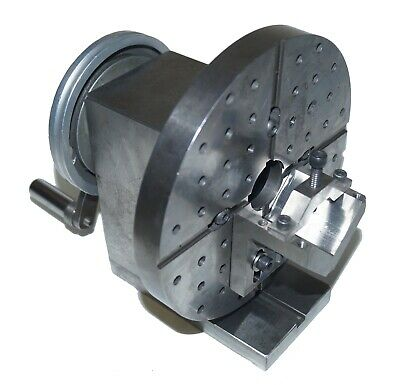 Surface Grinder Spin Fixture With V-block Removable Face Plate Precision