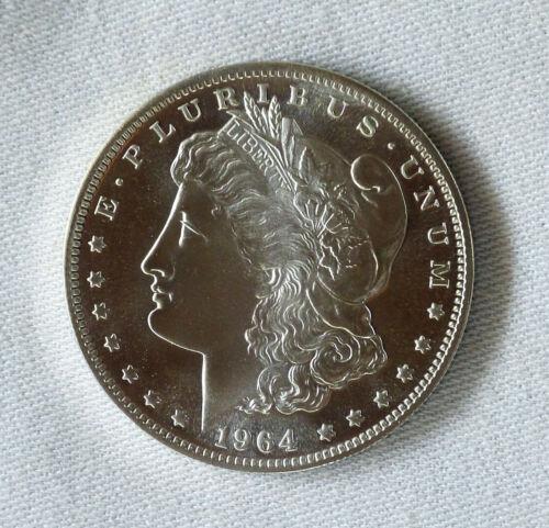 1964-D Morgan Dollar Daniel Carr overstrike Die Pair 2 Proof-like