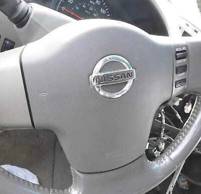 2004 05 06 07  Nissan Titan/Armada Driver wheel Airbag dark grey oem w/ warranty