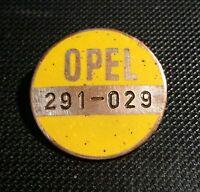 Opel Spilla Id Operazione Numerato Giallo Smaltato 27mm Wiedmann Vecchio+orig -  - ebay.it