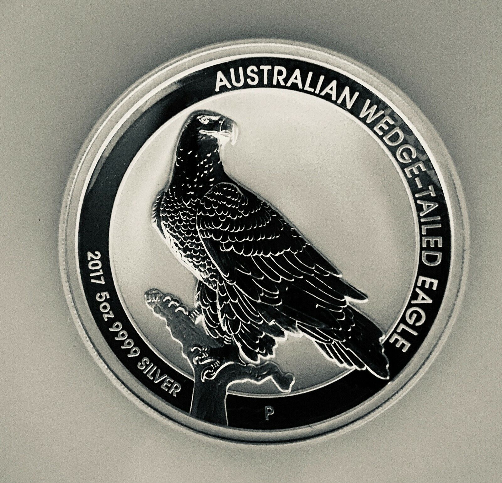 2017p 5oz Australia S 8 Wedge-Tailed Eagle High Relief - Reverse PF - PF 70 - $249.00