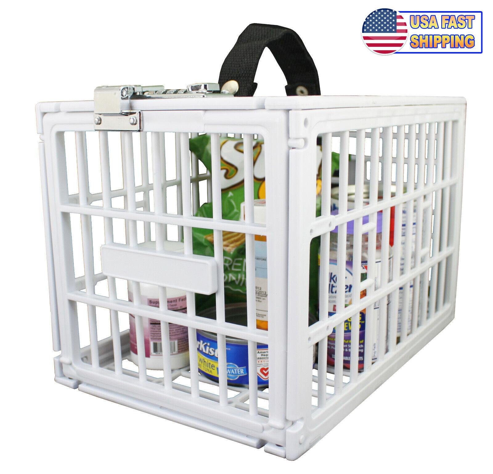 Fridge Locker Box Portable Refrigerator Food Snacks Beverage