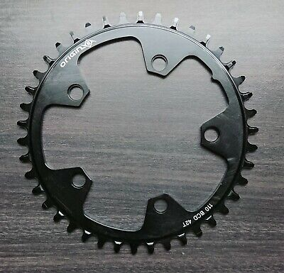 NEW Bicycle Chainring 42T, 110mm BCD, 5 Bolt, 1 X 10-12sp, Wide / Narrow, Alloy
