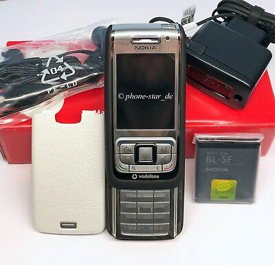 NOKIA E65 SLIDER-HANDY SMARTPHONE UNLOCKED BLUETOOTH KAMERA MP3 WLAN B-WARE OVP 3 Slider-handy