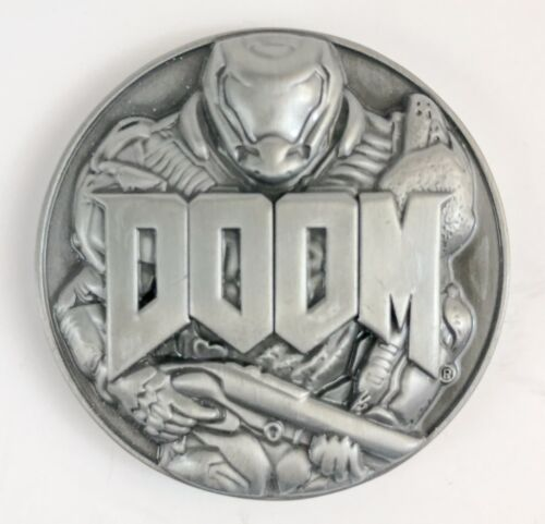 Rare Doom Video Game 3D Metal Challenge Coin Military Exclusive