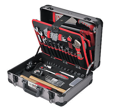 Werkzeugkoffer Professional Schreiner Tischler HOLZ 120-teilig Werkzeugkiste