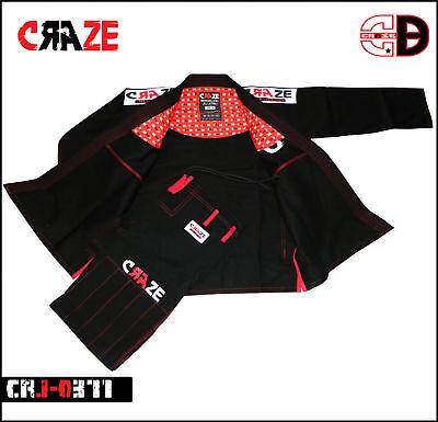 Jiu Jitsu Gi Brazilian BJJ MMA Grappling Kimono Unifrom Martial Arts 450 GSM -