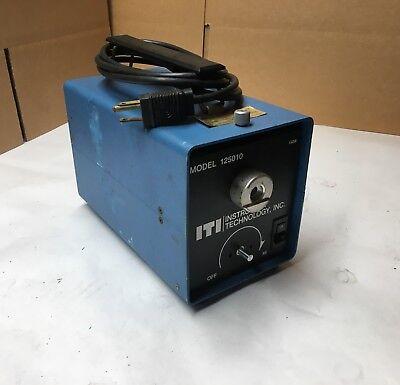 Iti - Instrument Technology Inc. Fiber Optic Light Source - Model 125010 - Clean