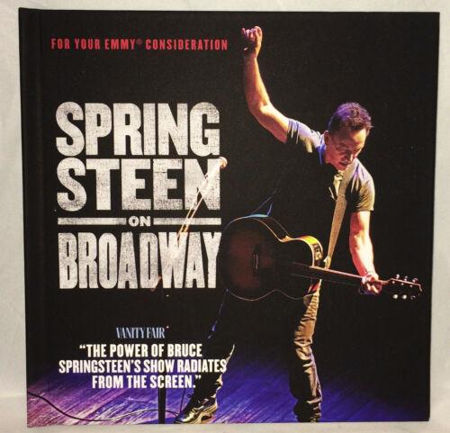 Bruce Springsteen On Broadway DVD Netflix FYC 2019 Emmy Documentary - VERY RARE
