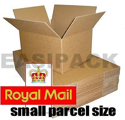 500 Postal Cartons Cardboard Boxes 9x6x2.5