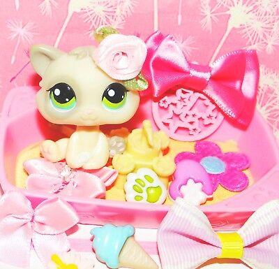 ۩ LPS Littlest Pet Shop Katze #1074 (Baby Kitten cat) Sandkiste -RARITÄT۩
