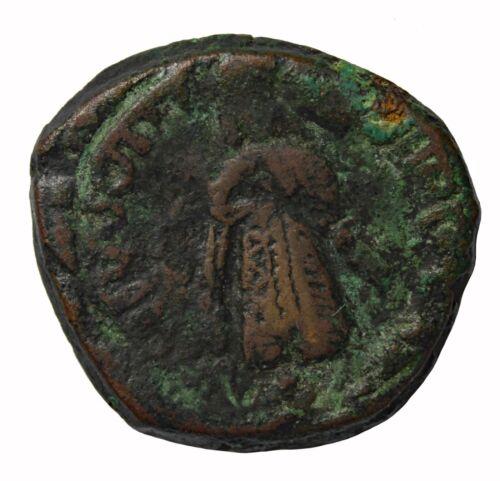 Arab-Byzantine Islamic Umayyad Caliphate Al-Malik 685-705 AD Qinnasrin AE Fals