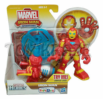 IRON MAN ADVENTURES! PLAYSKOOL HEROES MARVEL SUPERHEROES ACTION GEAR HASBRO