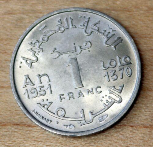 1951 Morocco 1 Franc