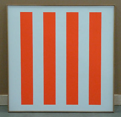 Lenz Geiger, 1967, Öl auf Leinwand, 130 x 130 cm, signiert