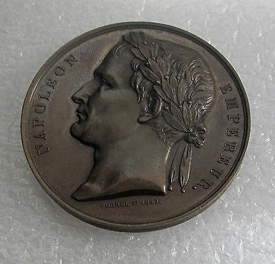 1840 FRANCE BRONZE MEDAL NAPOLEON RETURN FROM ST ELENA AU SUPERB