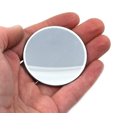 Concave Optical Mirror - Glass 2 50mm Dia. 75mm Focal Length - Eisco Labs
