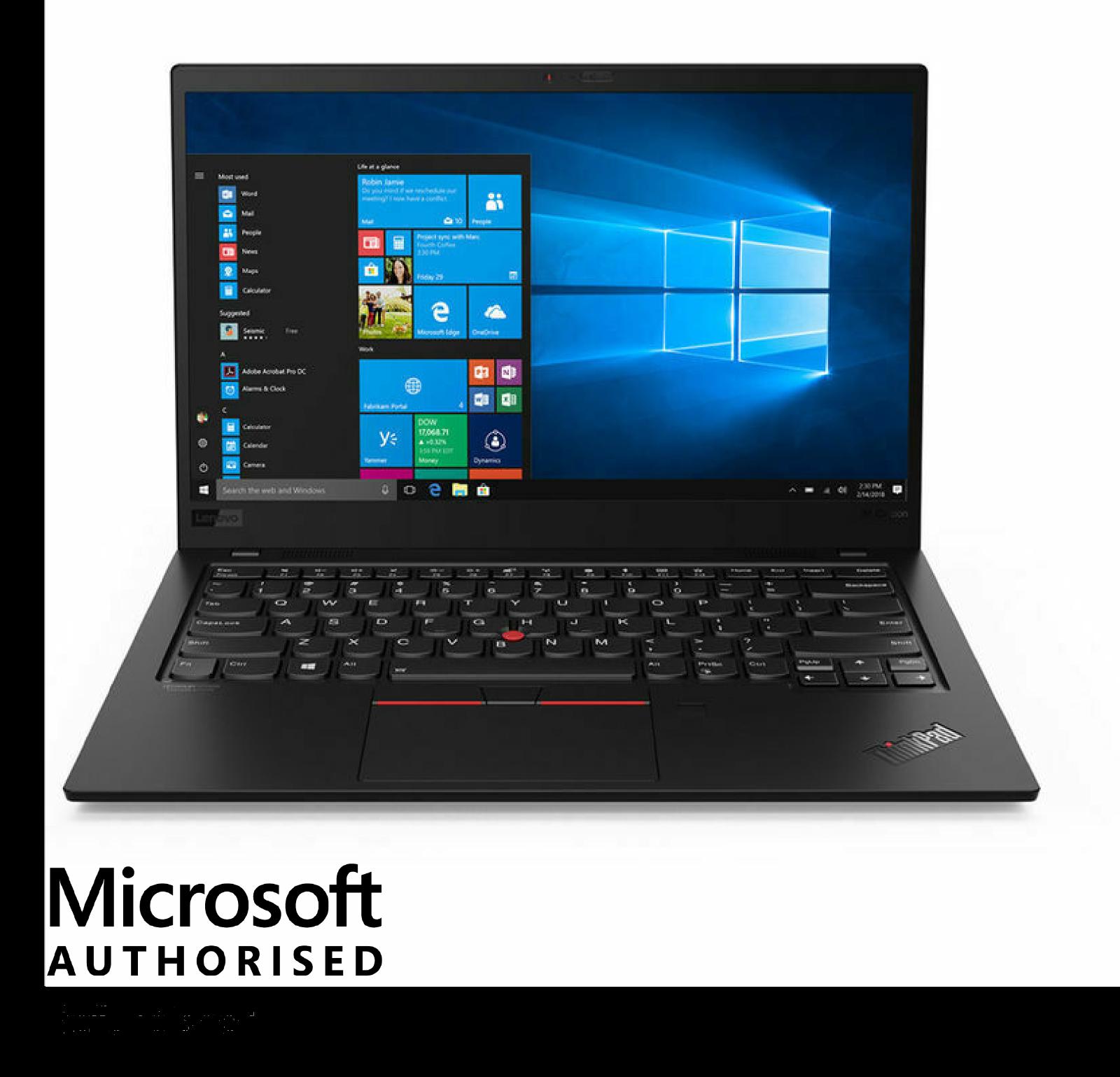 Laptop Windows - Lenovo ThinkPad X1 Carbon Ultrabook i7-5600U 256GB SSD 8GB RAM Windows 10 Pro