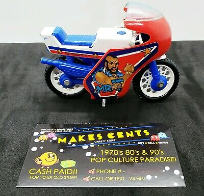 Vintage 1983 Galoob The A-Team Mr. T as B. A. Baracus Motorcycle Bike Super RARE