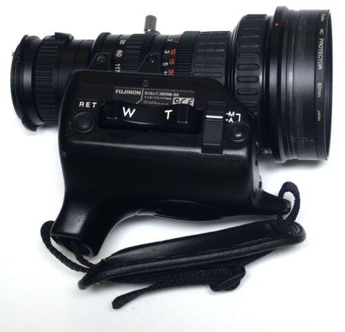 FUJINON S16x7.3BRM-68 Lens for SONY DSR-390 Digital Camera DVCAM Camcorder Parts