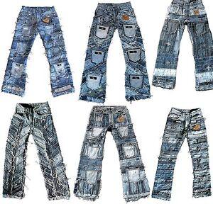 Ticila-SEVEN-STAR-Jeans-Special-Edition-Vintage-Hardcore-Biker-Designer-Denim