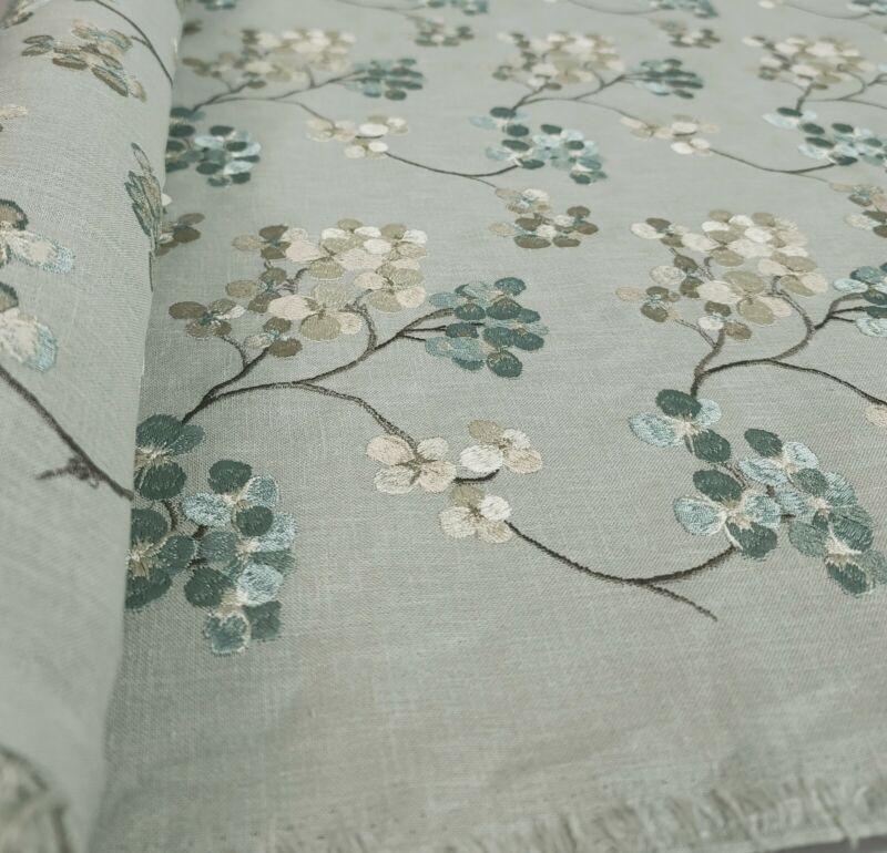 Pindler Emrboidery Fabric 4810 Seascape 3 YARDS