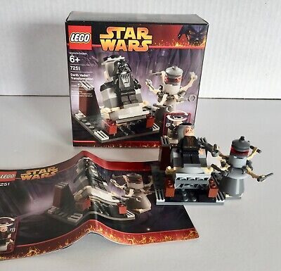 Nice, 100% complete Lego 7251 DARTH VADER TRANSFORMATION  w/ box & instructions