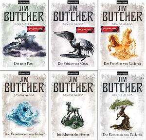 Codex Alera Bücherserie Band 1,2,3,4,5,6 im Set von Jim Butcher