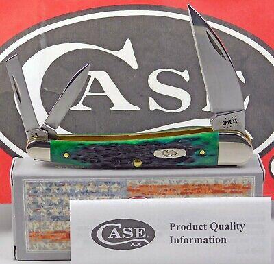Case XX Kentucky Bluegrass Bone Peach Seed Jigged Seahorse Whittler Pocket Knife