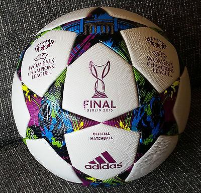 847813f923c16 Adidas Matchball Women UEFA CL Finale Berlin 2015 Football Footgolf Soccer  Ball