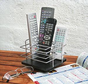 Fernbedienungshalter FB Ablage Halter Fernbedienung Ständer Handyhalter drehbar