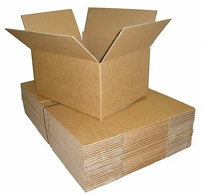25 Postal Cardboard Boxes 13.5x9.5x5.5 SW ROYAL MAIL SMALL PARCEL 350x250x160mm