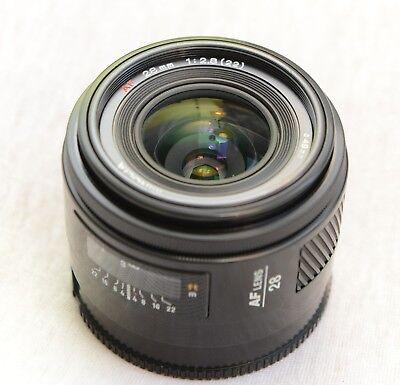 Minolta 28mm f/2,8 AF Lens SONY A mount Made in Japan