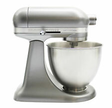 KitchenAid 3.5 Qt. Artisan Mini 10-Speed Tilt-Head Stand Mixer in Contour Silver