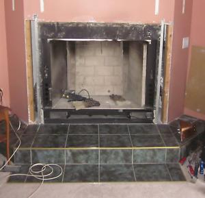 Fireplace  (zero clearance)