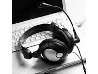 Audio Transcription Service (Typing service)