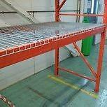 We have a large stock of new wire mesh deck for pallet racking