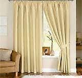 Lined Tab Top Curtains