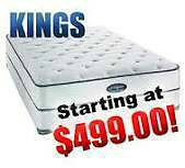 Hotel Brand KING SIZE Mattresses! LOWEST PRICES IN CALGARY!