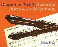 DESCANT & TREBLE RECORDER DUETS FROM BEGINNING pup
