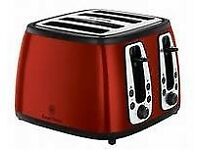 russell hobbs kettle and 4 slice toaster